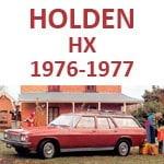 Holden HX