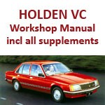 Holden Commodore VC including all Supplements